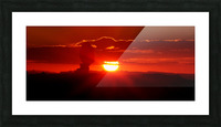 MYSTERIOUS BALANCED ROCK -CROPPED Picture Frame print