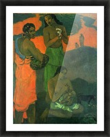 Motherhood by Gauguin Picture Frame print