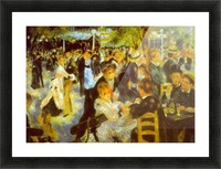 Moulin Galette by Renoir Picture Frame print