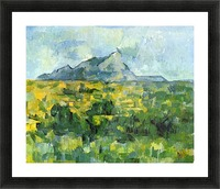 Mount St. Victiore by Cezanne Picture Frame print