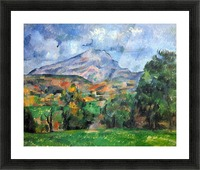 Mount St. Victoire by Cezanne Picture Frame print