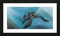 Collection WAVES-Turtle Impression et Cadre photo