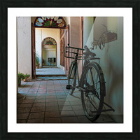 bicycle Picture Frame print