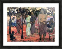 Nava Nava Mehana by Gauguin Picture Frame print