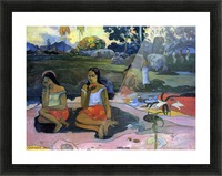 Nave Nave Moe by Gauguin Picture Frame print