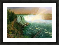Niagra Falls by Bierstadt Picture Frame print