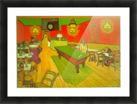 Night Cafe by Van Gogh Picture Frame print