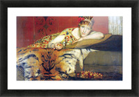 A craving for cherries by Alma-Tadema Picture Frame print