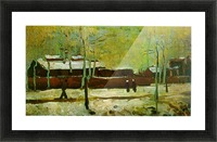 Old Station by Van Gogh Picture Frame print