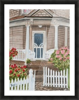 Welcome Home  Picture Frame print