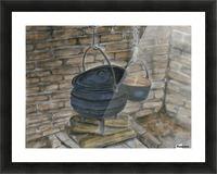 Pot Calling the Kettle Black Impression et Cadre photo