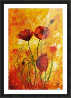 Edit Voros Red Poppies 006 Picture Frame print