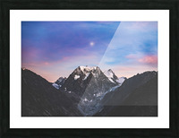 Shine on Picture Frame print