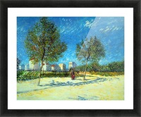 Outskirts by Van Gogh Picture Frame print