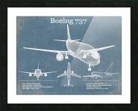 737 Picture Frame print