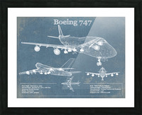 747 Picture Frame print