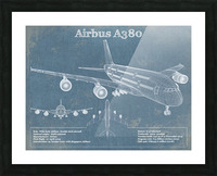 a380xd Picture Frame print