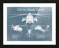 blackhawk Picture Frame print