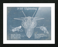 f 35 Picture Frame print