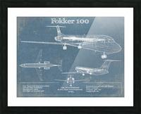 fokker Picture Frame print