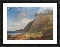 A Danish Coast Picture Frame print