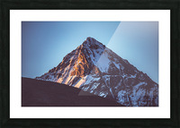 First sunlight Picture Frame print