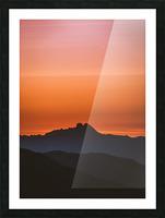 Plane scratch Picture Frame print