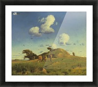 Hankehoj Picture Frame print