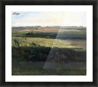 Hills near Vejby, Zealand Picture Frame print