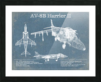 harrierII Picture Frame print