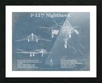 nighthawk Picture Frame print