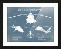 seahawk Picture Frame print