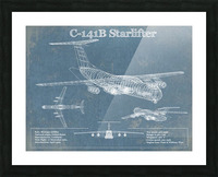 starlifter Picture Frame print