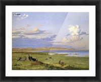 Landskab ved Arreso Picture Frame print