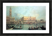 Palazzo Ducale by Canaletto Picture Frame print