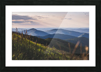 Soft chill in Bieszczady Picture Frame print