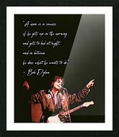 Bob Dylan Picture Frame print