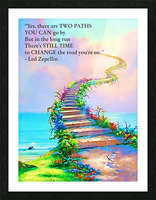 Stairway To Heaven Picture Frame print