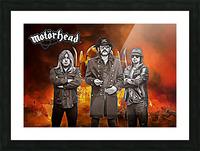 Motorhead Picture Frame print