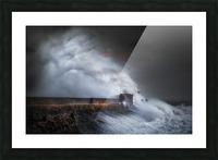 Hurricane Ophelia at Porthcawl Picture Frame print