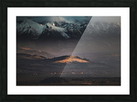 Tatry Picture Frame print