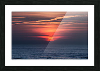 Sea lamp Picture Frame print