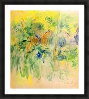 Path in Bois de Boulogne by Morisot Picture Frame print