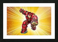 Ironman Hulkbuster Picture Frame print