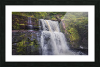 The waterfall Sgwd Clun Gwyn  Picture Frame print