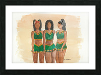 Clovers Picture Frame print