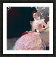 Picture of Sonja Knips by Klimt Picture Frame print