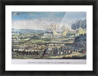 Battle of Jena Picture Frame print