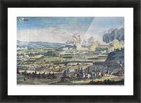 Le bataille de Jena Picture Frame print