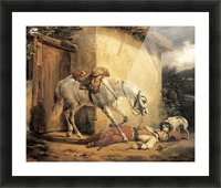The Wounded Trumpeter 1819 Picture Frame print